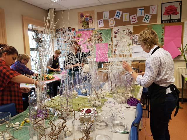 Shipley College florists support Welcome to Yorkshire news image