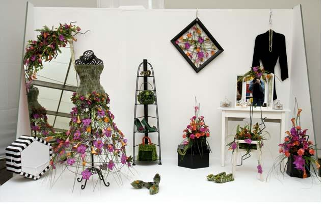 Floristry students success at Harrogate Spring Flower Show news image
