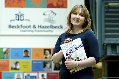 Amy, Beckfoot School, Bingley news image