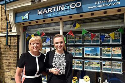 Vicky & Angela, Martin & Co Estate Agency, Saltaire news image