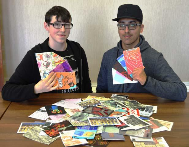 Students & Saltaire prepare for the Arts Trail news image