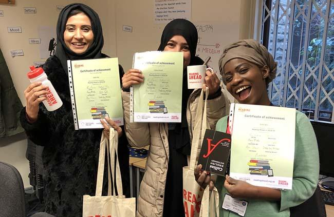 ESOL students take part in a national reading challenge news image