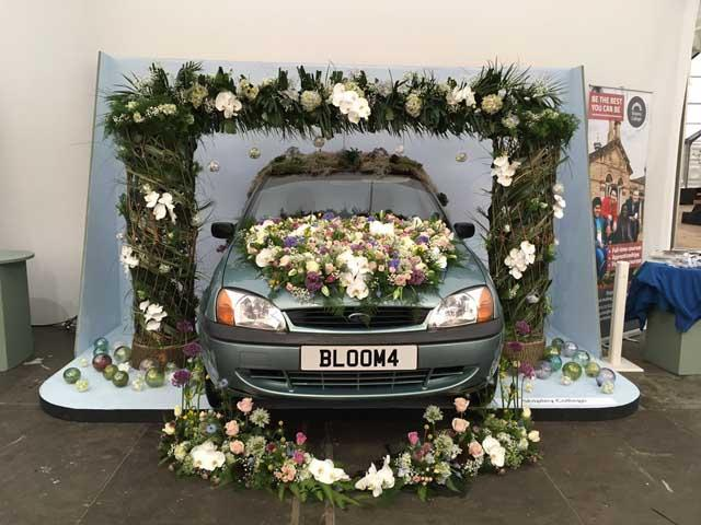 Floristry students scoop Silver at Harrogate Flower Show! news image