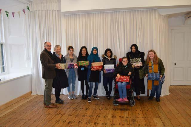 Health & Social Care Level 2 shoebox donations for the homeless news image