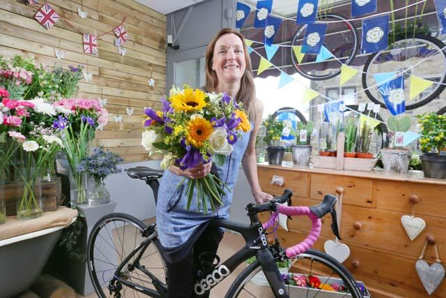 Tutor named official florist of the Tour de Yorkshire 2018 news image