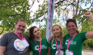 Staff & Students unite at Race for Life news image