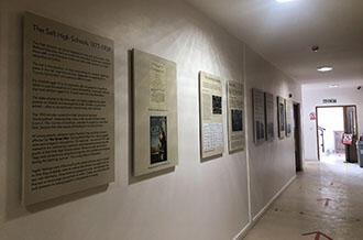 New displays tell the story of our buildings news image