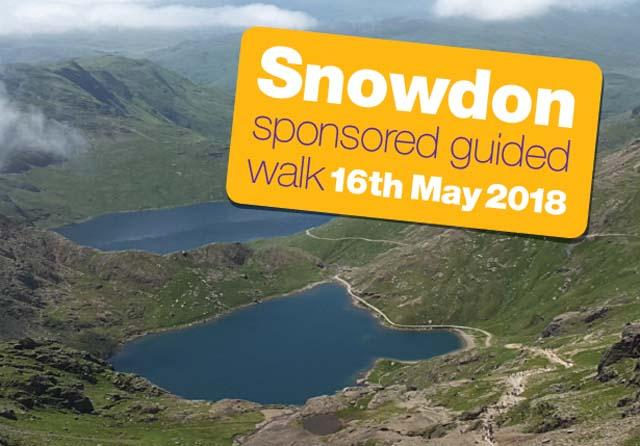 Sponsored Guided Walk up Snowdon news image