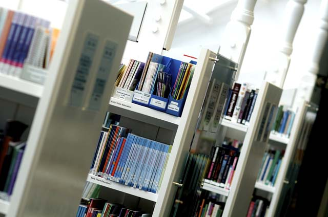 Books in Learning Resource Centre