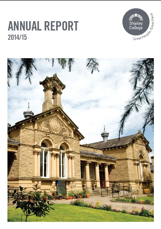 Shipley College Annual Report