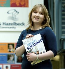 Amy, Beckfoot School Apprentice