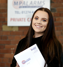 Hannah, MP Alarms Apprentice