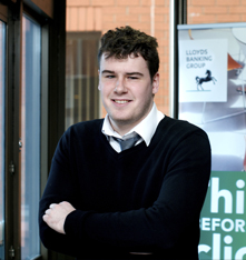 Joshua, Lloyds bank apprentice