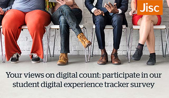 student digital experience tracker survey news shipley college
